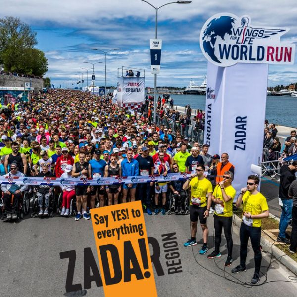 Be the change and run - WINGS FOR LIFE WORLD RUN