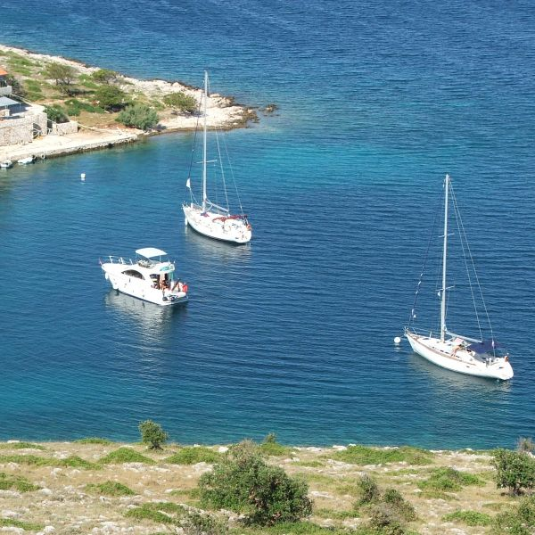 Swim in the National Park of Kornati