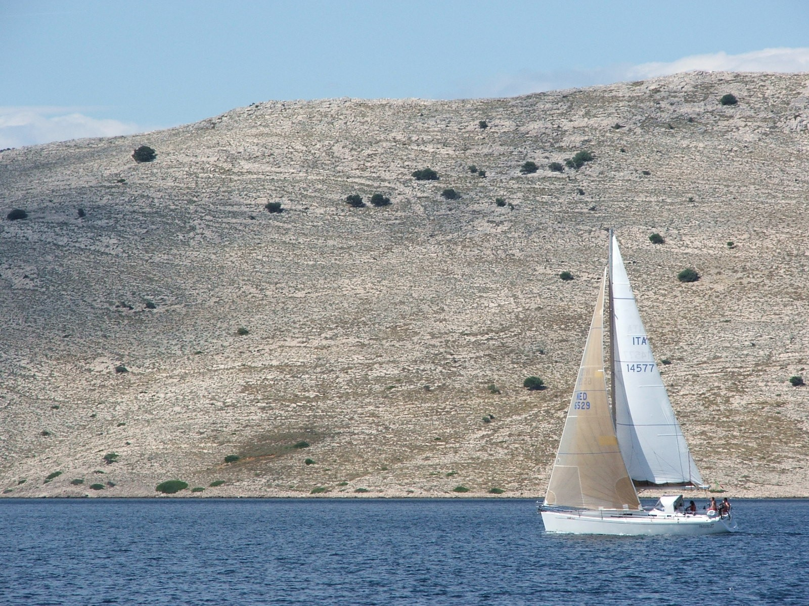 National Park of Kornati, Croatia