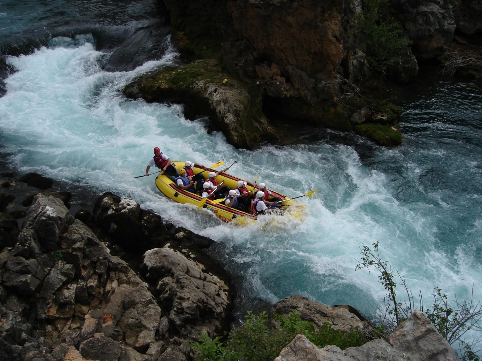 Rafting/kayaking na Zrmanji, Hrvatska