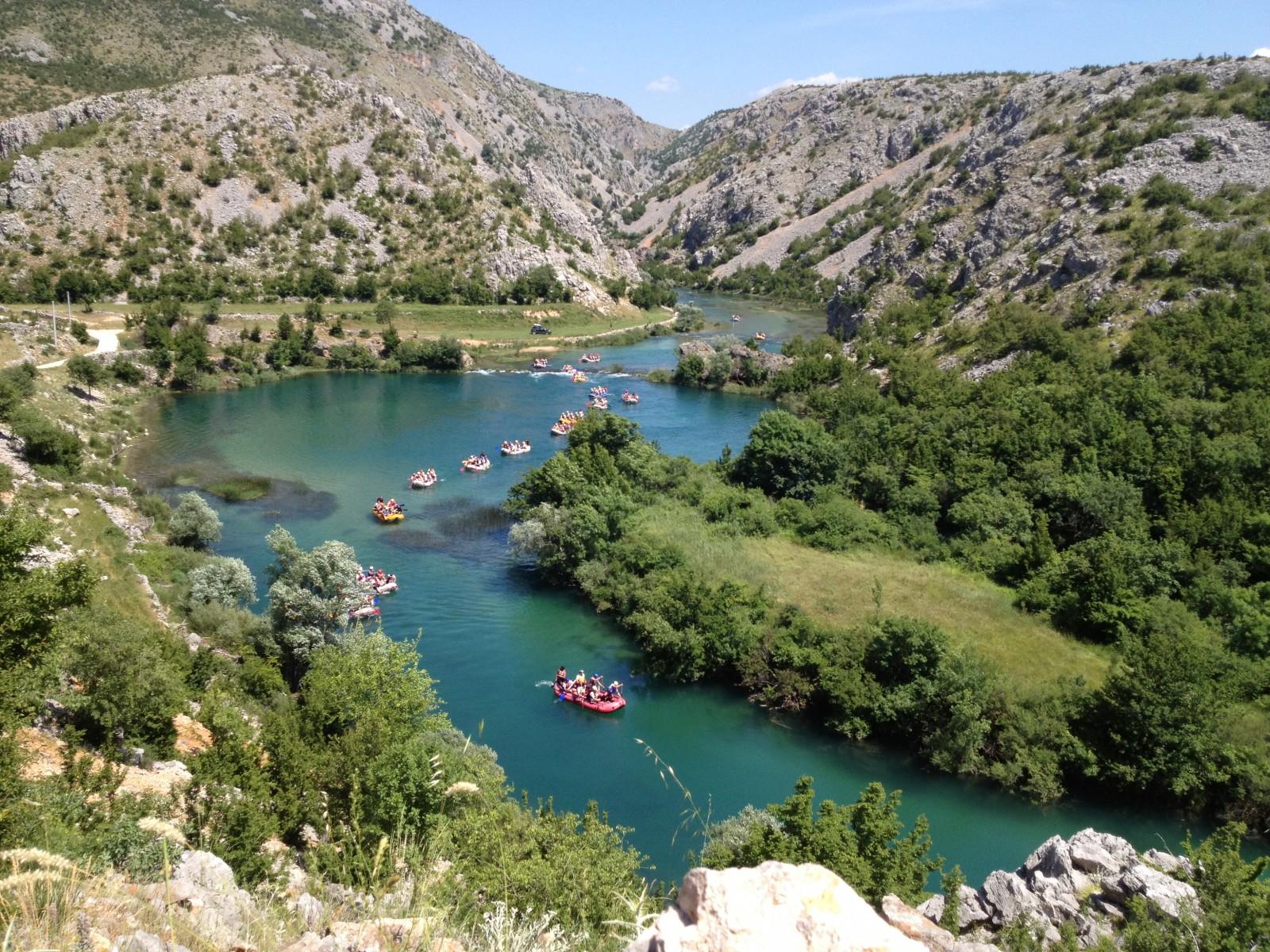 Rafting/kayaking na Zrmanji - zelena ljepotica usječena u planinu